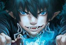 blue exorcist / Rin Okumura