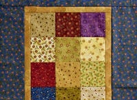 I LOVE SCRAP QUILTS. / Scrap quilts have always been my favorite.Ilike the family home feeling and this does fill the bill.