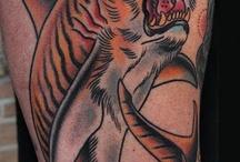разные татуировки