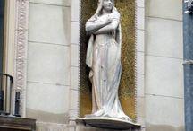 Opera Singer Statues