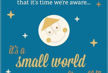 It's a small world after all... / by Debra Badillo