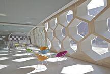 kanceláře interiéry