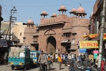 The faces of Bikaner Rajasthan / Bikaner is a small  desert city in Rajasthan was built around the 15th century. famous for the camel fair and the beautiful fort.