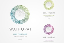 Waihopai / Waihopai // logo design and wine bottle design and packaging