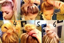 EASY MESSY HAIRSTYLES / EASY MESSY HAIRSTYLES