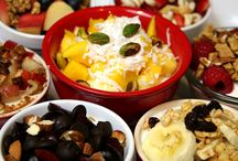 Greek Yogurt Topping Ideas / Healthy toppings for Greek yogurt!