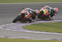 Aprilia MotoGP 2015 - Qatar / Qatar, 29 March 2015 - The first race for the RS-GP was long-awaited by the entire Aprilia Racing Team Gresini as an essential test to assess how far development has come on the young project in an actual competition.