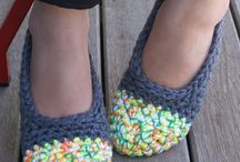 Crochet slippers and booties / by Heather Stewart Topping
