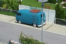 VW T1 Panel Doveblue