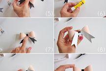 * papiers / origami