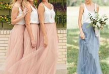 Beach bridesmaids dress