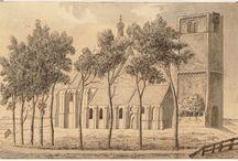 Kerken / Churches / Foto's en tekeningen van kerken in een deel van Noord-Holland