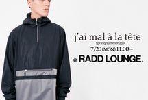 j'ai mal à la tête (jmalt) - SS 15 collection / http://blog.raddlounge.com/?p=36187