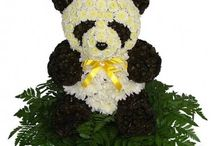animal floral arrangements