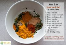 Seasonings, sauces, dips and condiment recipes