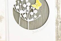 Dandelion clock cards
