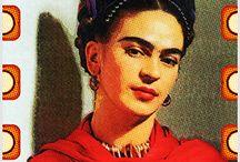 Quadrinhos em Azulejos - Coleção Frida Kahlo. / Quadrinhos confeccionados em Azulejo no tamanho 15x15 cm.Tem um ganchinho no verso para fixar na parede. Inspirados em fotos e autrorretratos da pintora mexicana.  Para entrar em contato conosco, acesse: www.babadocerto.com.br