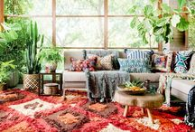 Boho Beach / Life is simple...or at least it feels that way with this bright and beachy bohemian-inspired look. Combining plush, modern comfort with Eastern global influences and a flair of coastal inspiration, this look is young, bold, and filled with a kaleidoscope of color that'll transport you to warm, secluded shores. Find fun pattern and the use of natural materials in every accent and corner. It's your own little piece of paradise.