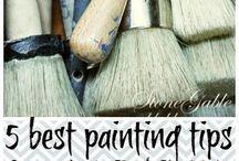 Annie Sloan chalk painting