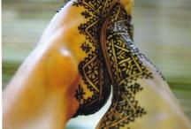 Henna testfestés