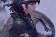 Warrior ideal woman