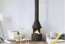 Cheminées Suspendues / Retrouvez toutes nos cheminées classiques sur notre site : http://www.turbofonte.com/cheminee-suspendue