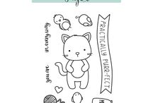 Neat and Tangled stamps