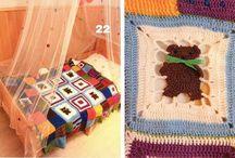 Colchas, afganos, baby blanket / Adoro las colchas, mantas, es un circulo vicioso