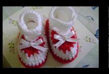 pletenie, háčkovanie-detské papučky