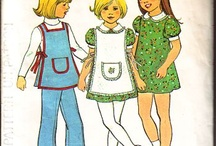 Vintage sewing patterns / an assortment of vintage sewing patterns that i have for sale on my site. http://www.buggsbooks.com