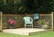 Landscaping / Our range of garden landscaping products include both decking and fencing, helping you to complete the look of your garden.
