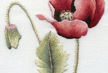 Embroidery flowers / Amazing so many different ways to embroider flowers