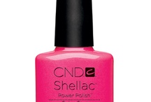 Cnd shellac colors i have