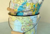 Vintage Maps / by Vintage Packrat