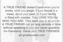 Friendship Quotes / by tonikane