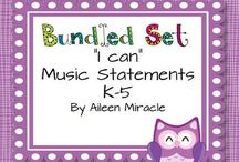 """Music """"I Can"""" Statements"""