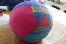 Fünfeckballschablone