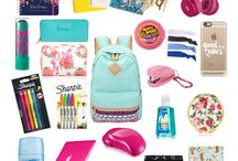Back to school-what's in my backpack