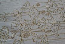 My batik painting.