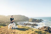 Engagement Photography / Engagement and couple session ideas. Central Coast engagement photography.