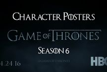 """Game of Thrones (GOT): Season 6 / Get all 16 Character Posters of """"Game of Thrones"""" Season 6. First glimpse was given in Hall of Faces teaser video by HBO. These posters are combination of alive and long dead characters appearing in the latest season of GOT."""