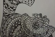 Pattern / Zentangle