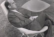 Незаменимые V- HARRY BERTOIA / Harry Bertoia урожденец Италии, но в 15 лет, после визита к своему брату в Америку, решил  остаться в Детройте, где он сосредоточился на образовании в сфере искусства в Академии Cranbrook.
