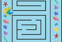 Fejlesztő játék - Labirintus