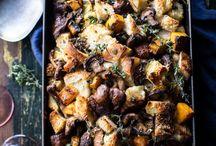 Holiday Cooking + Seasonal Meals / Thanksgiving + Christmas Recipes