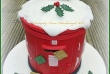 Creative Christmas cakes