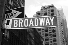 Theatre - Broadway / I'll perform here someday / by Katie Dunn