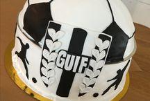 Karibu / GUIF, fotboll, tårta, Umeå, kalas