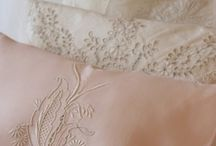 antique lace and linen