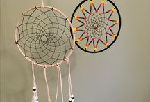 My personal work / Native beading and dream catchers